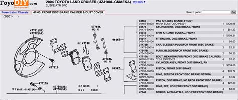 toyota oem parts diagram oem toyota parts catalog diagram ih8mud forum