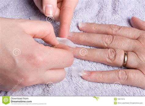 nail extensions on men nail extensions stock images image 13571374
