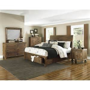 magnussen river ridge panel customizable bedroom set