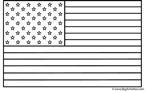 template of the american flag american flag coloring page veteran s day