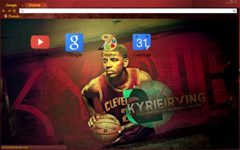 Google Chrome Themes Kyrie Irving | 13 cleveland cavaliers chrome themes desktop wallpapers