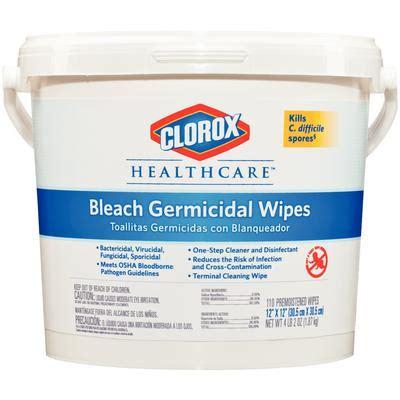 clorox germicidal wipes pkg bucket included