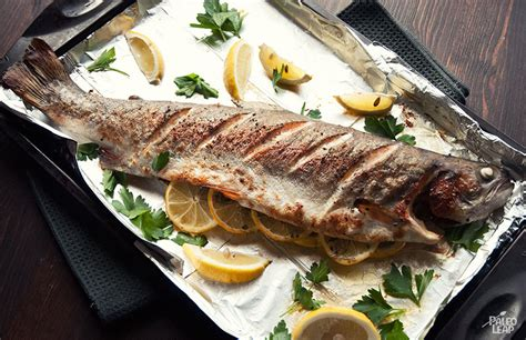 Fish Grill Recipe by Cooking Whole Fish And Grilled Trout Recipe Paleo Leap