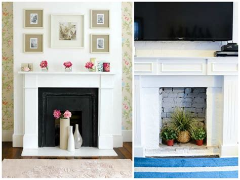 non working 7 ways to decorate a non working fireplace celebricious