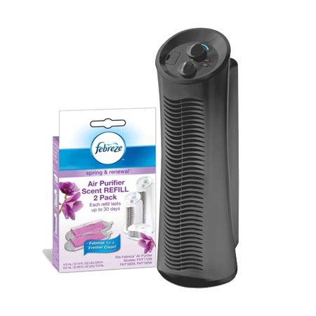 febreze tower air purifier with renewal scent cartridge value bundle