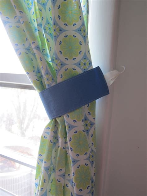 how to make curtain tie backs with ribbon curtain tiebacks adventures on a suburban homestead