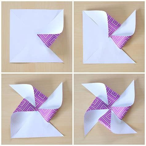 How To Make A Pinwheel With Paper - paper helicopter pinwheel with free template paper how