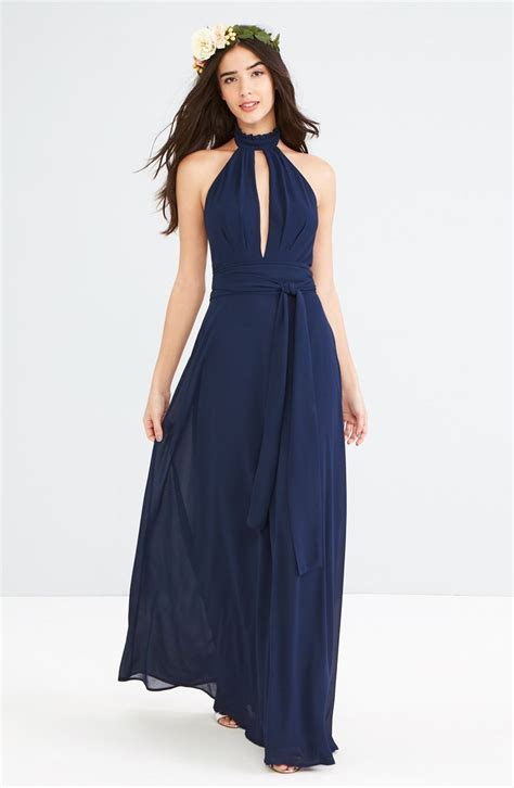 Navy Bridesmaid Dress by 150 Best Navy Blue Bridesmaid Dresses Images On