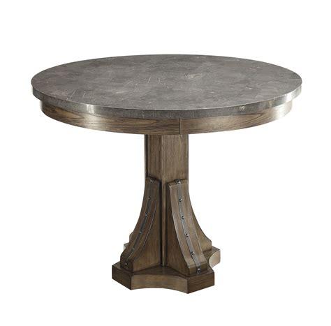 willowbrook craftsman ash bluestone laminate top round