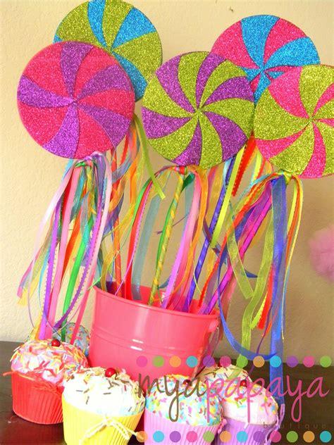 themes lollipop candyland lollipop wandsset of six magical by