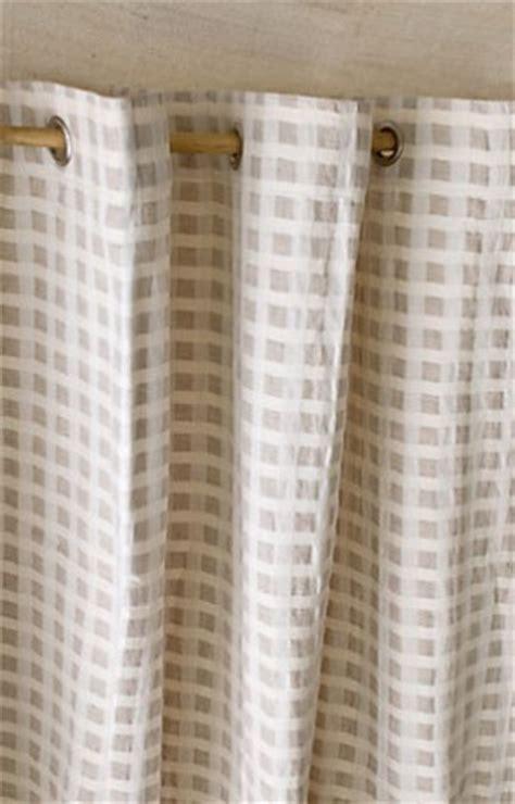 fabric or vinyl shower curtain vinyl no more birch fabric shower curtain