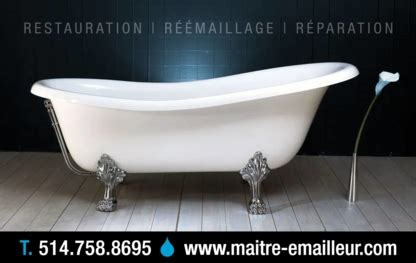 emailleur baignoire r 233 233 maillage et r 233 paration de baignoire 224 qc pagesjaunes