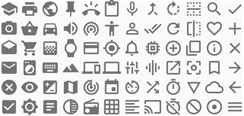material design icon expand icons style google design guidelines