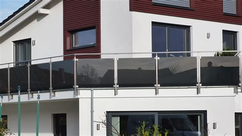 Balkon Mit Glas by Balkon Verglasung Mit Klemmhalter