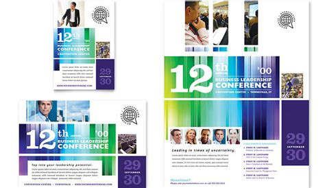 5 Conference Flyer Templates Af Templates Conference Flyer Template