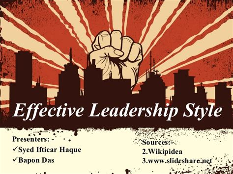 exle of leadership leadership styles with exles