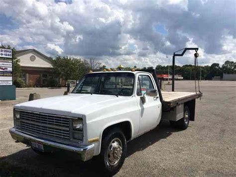 chevrolet 1 ton truck chevrolet c30hd 1 ton dually 1983 flatbeds rollbacks