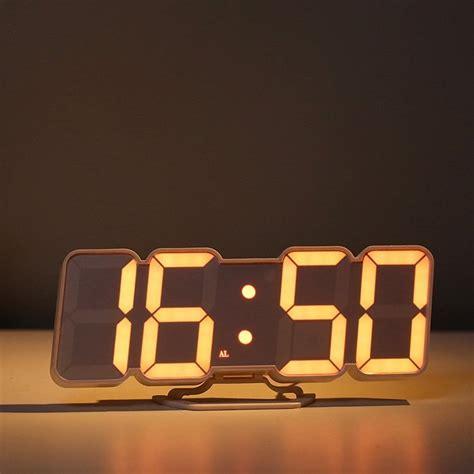 Desktop Alarm Clock digital led desktop alarm clock 187 petagadget