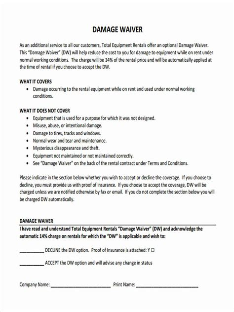 5 Letter Words Damage waiver template word animal attendant sle resume chef