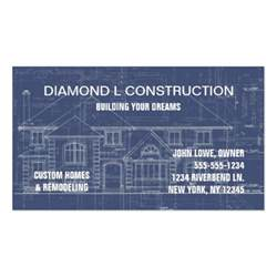 construction business cards templates construction business card zazzle