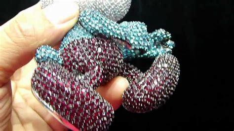 chris da jeweler custom lab diamond papa smurf pendant video bp04402 sale