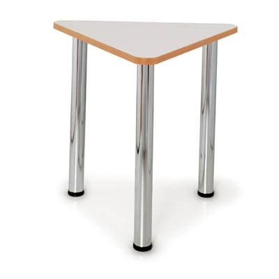 Triangle Meeting Table Quorum Geometry Meeting Table 60 Degree Triangle 750mm Office National Barossa