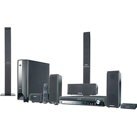 panasonic sc pt1050 deluxe home theater system