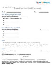 sle rfp templates product template