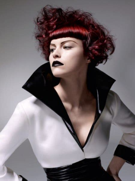 outrageous hairstyles created   sassoon tradition