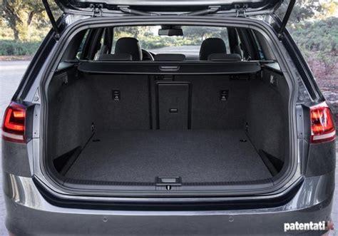 Golf Variant Kofferraumvolumen by Foto Volkswagen Golf Gtd Variant Bagagliaio Patentati