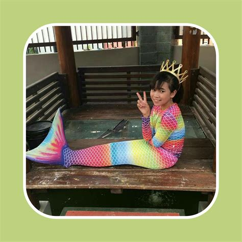 Baju Renang Anak Putri Duyung Import Rainbow baju renang putri duyung toko bunda