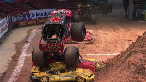 monster truck show birmingham monster jam northern nightmare monster truck s debut in