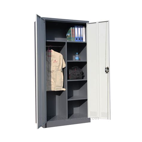 Lemari Pakaian Besi harga lemari pakaian hefeng furniture