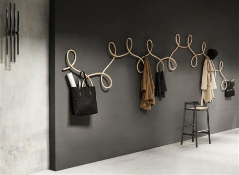 cool coat rack sculptural coat rack inspired by waltz dancing digsdigs
