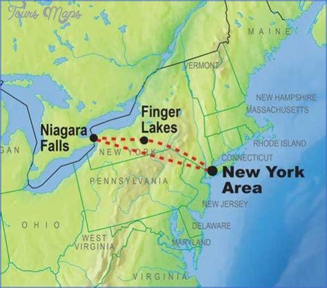usa map niagara falls niagara falls on map my