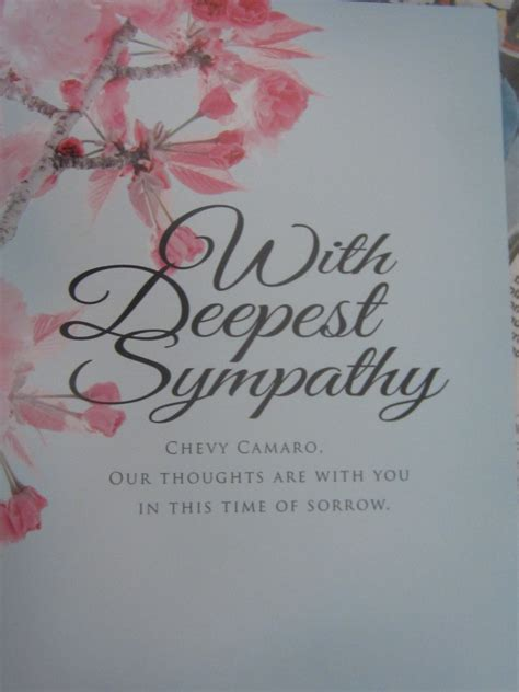 Sympathy Statements Best Template Collection Sympathy Card Templates Free