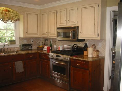 two tone kitchen cabinets sheshe the home magician to paint or not to paint those