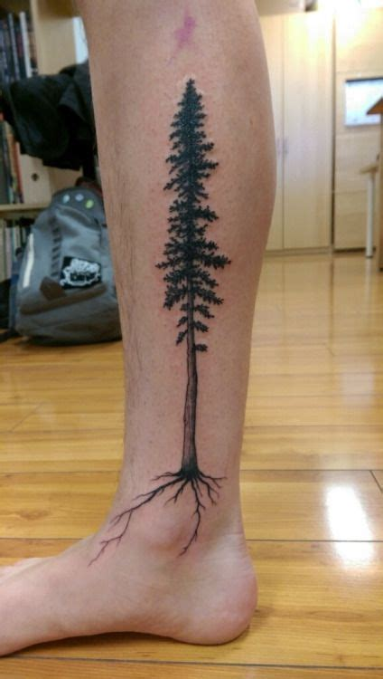 forest tree tattoo redwood tree pinteres