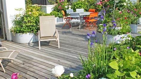 Bordure De Terrasse Fleurie by Id 233 Es Jardin Et Terrasse Conseils Pour Am 233 Nager L