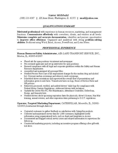 safety resume sle safety professional resume objective virtren 28 images