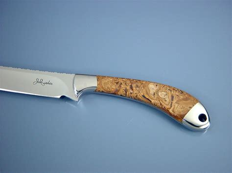 Handmade Fillet Knives - quot volans quot handmade custom fillet knife by fisher