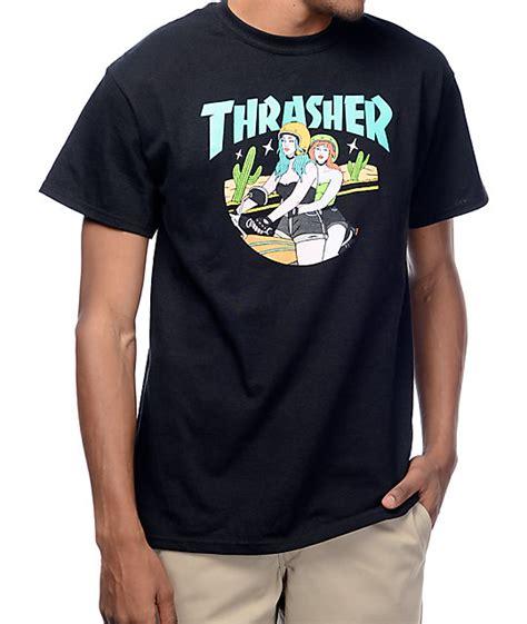 T Shirt Tharasher thrasher black t shirt