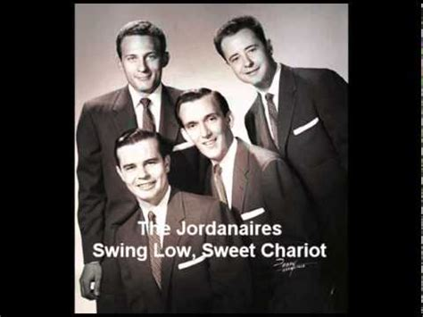 johnny swing low sweet chariot the jordanaires swing low sweet chariot