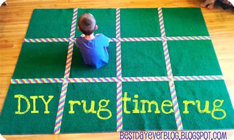 Sunday School Rugs by Diy Rug Time Rug You Just Need A Cheap Rug And Duct