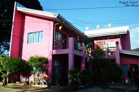the pink house project gora the pink house of dalaguete