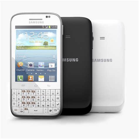 wallpaper samsung chat b5330 samsung galaxy chat b5330 3d model