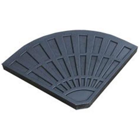 Patio Umbrella Weights Set Of 2 Cantilever Parasol Base Weights 12kg Each For Garden Banana Umbrella Co Uk