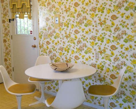 flower wallpaper kitchen contemporary wallpaper for sale
