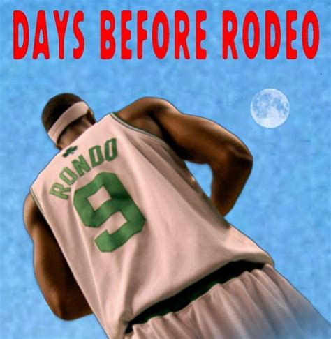 what are days before days before the rodeo hoops amino