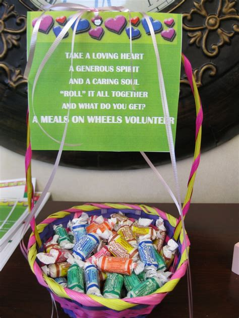 easy thank you gift for volunteers would be great in the
